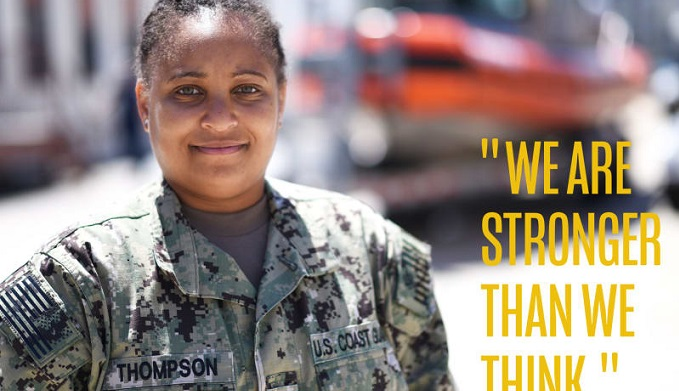 Fearless Women of the Coast Guard Reserve - Brittny Thompson