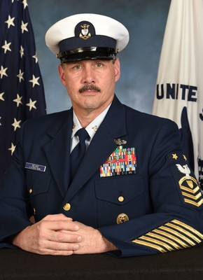 Master Chief Petty Officer Timothy A. Beard Official Portrait