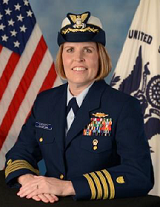 Captain Miriam L. Lafferty Official Portrait
