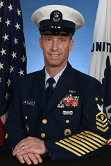Master Chief Petty Officer George M. Williamson Official Portrait