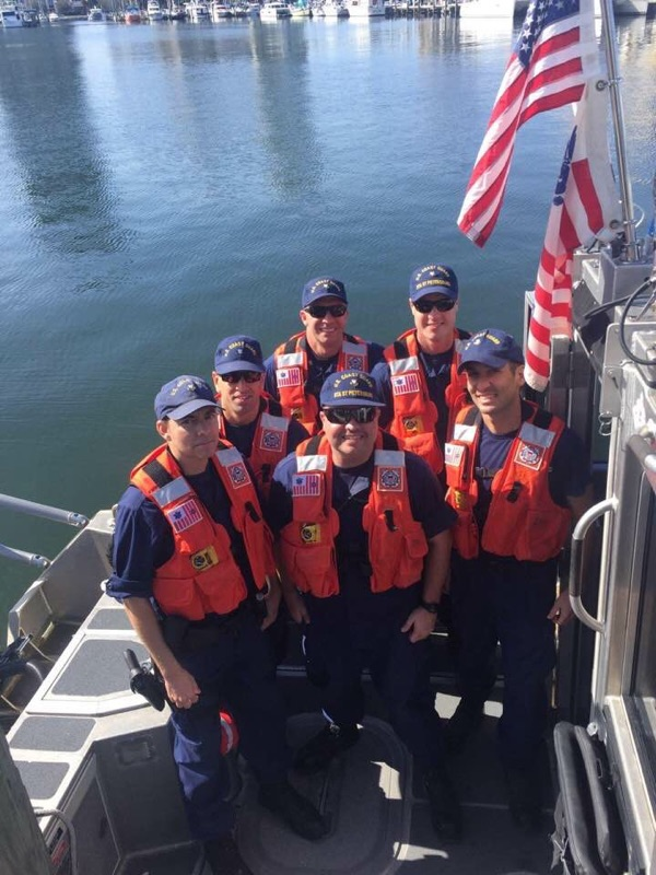 Crew of CG2915 from Coast Guard Station St. Petersburg