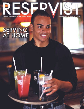 Reservist Magazine, Serving at Home, Volume 57 Issue 5