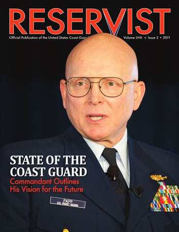 Reservist Magazine, State of the Coast Guard, Volume 58 Issue 2