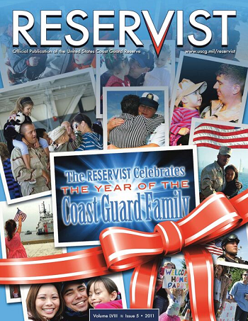 Reservist Magazine, The Year of the CG Family, Volume 58 Issue 5