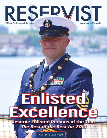 Reservist Magazine, Enlisted Excellence, Volume 61 Issue 2