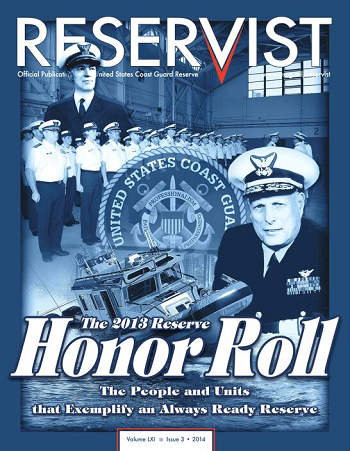 Reservist Magazine, The 2013 Honor Roll, Volume 61 Issue 3