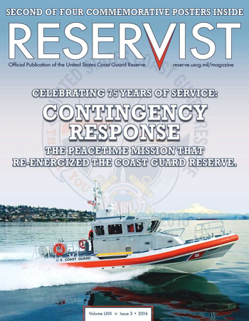 Reservist Magazine, Contingency Response, Volume 63 Issue 2