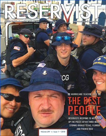 Reservist Magazine, The Best People, Volume 65 Issue 1